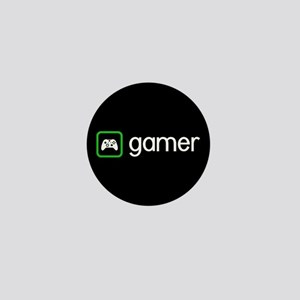 Gamer (Green) Mini Button