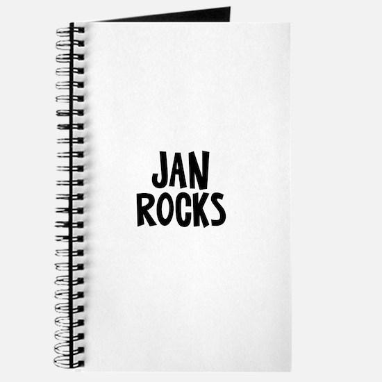 Jan Rocks Journal