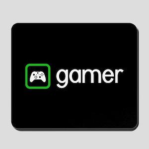 Gamer (Green) Mousepad