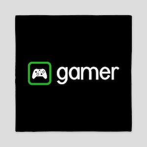 Gamer (Green) Queen Duvet