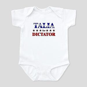 TALIA for dictator Infant Bodysuit