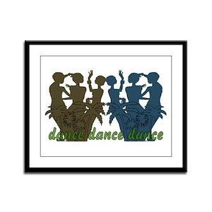 Dance Dance Dance Framed Panel Print