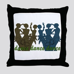 Dance Dance Dance Throw Pillow