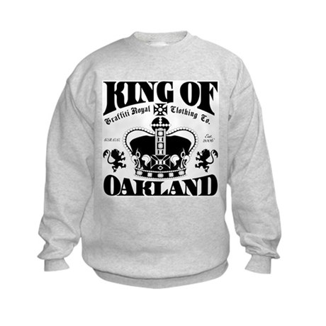 """KING OF OAKLAND"" Kids Sweatshirt"