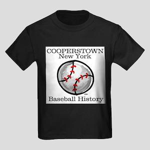 Cooperstown NY Baseball shopp Ash Grey T-Shirt