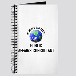 World's Greatest PUBLIC AFFAIRS CONSULTANT Journal