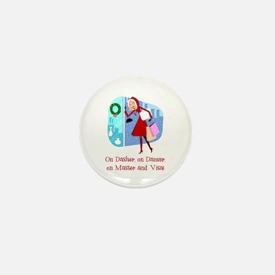Master and Visa Mini Button