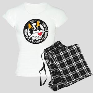 2016 NC Corgi Picnic logo-b Women's Light Pajamas