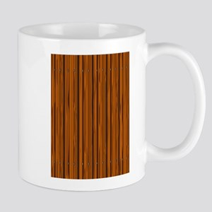 Light Brown Fence Fence Mugs
