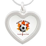 Away Silver Heart Necklace Necklaces