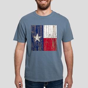 barn wood Texas Flag T-Shirt