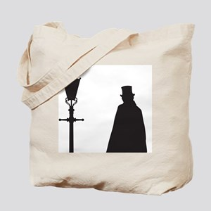 Jack The Ripper and Street Light Tote Bag