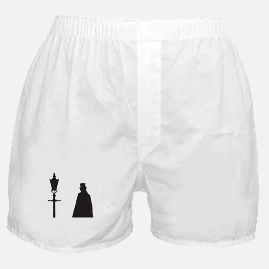 Jack The Ripper and Street Light Boxer Shorts