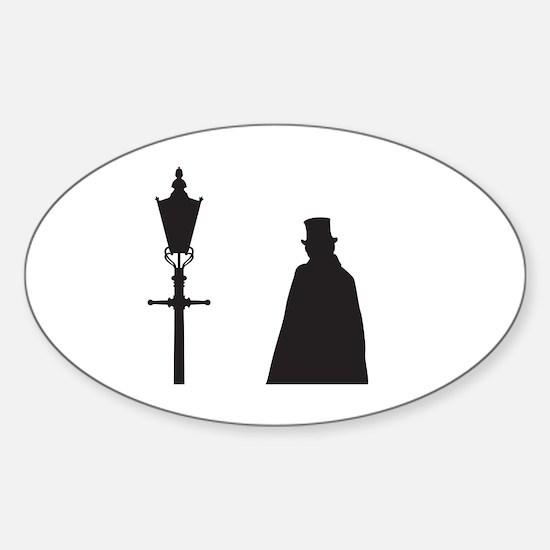 Unique Murder of crows Sticker (Oval)