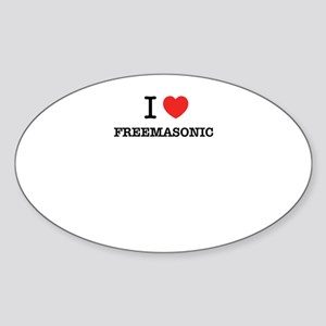 I Love FREEMASONIC Sticker