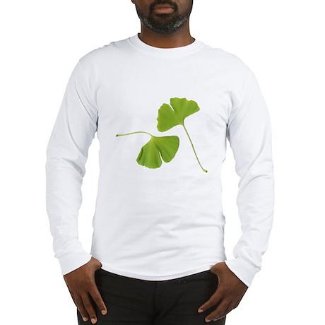Ginkgo Biloba Leaves Long Sleeve T-Shirt