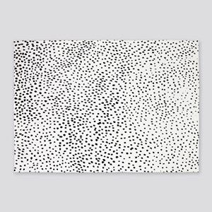 Lots of Dots 5'x7'Area Rug