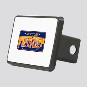 Mets Rule Orange Licence P Rectangular Hitch Cover