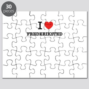 I Love FREDERIKSTED Puzzle