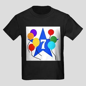 Star 7th Birthday Kids T-Shirt