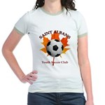 Away Jr. Ringer T-Shirt