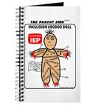 Inclusion Voodoo Doll Journal