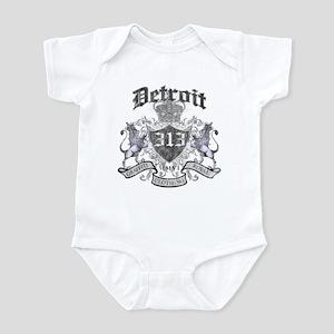 """""""DETROIT 313 LION CREST"""" Infant Bodysuit"""