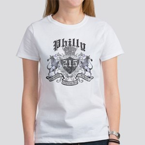 """PHILLY 215 LION CREST"" Women's T-Shirt"