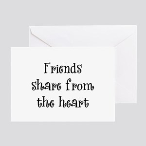 Friends Share Greeting Card