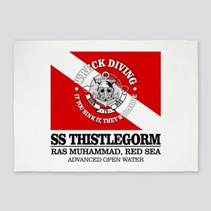 Thistlegorm 5'x7'Area Rug
