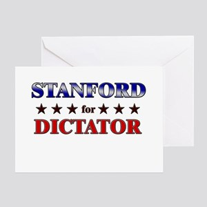 STANFORD for dictator Greeting Card