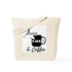Luna Cafe & Coffee - Luna City, Texas Tote Bag