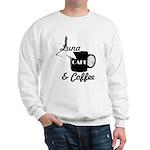 Luna Cafe & Coffee - Luna City, Texas Sweatshirt