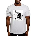 Luna Cafe & Coffee - Luna City, Texas T-Shirt