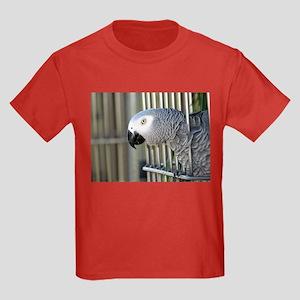Helaine's African Gray Kids Dark T-Shirt