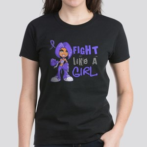 Fight Like a Girl 42.8 Stomach Cancer T-Shirt