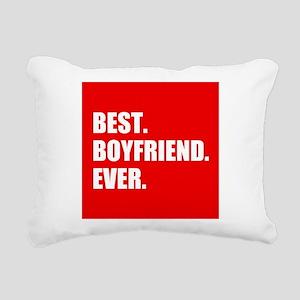 Best Boyfriend Ever in red Rectangular Canvas Pill