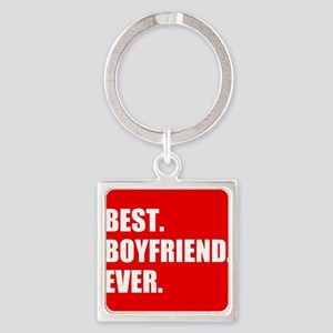 Best Boyfriend Ever in red Keychains