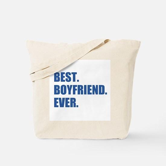 Dark Blue Best Boyfriend Ever Tote Bag