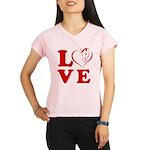 Horse Love Performance Dry T-Shirt