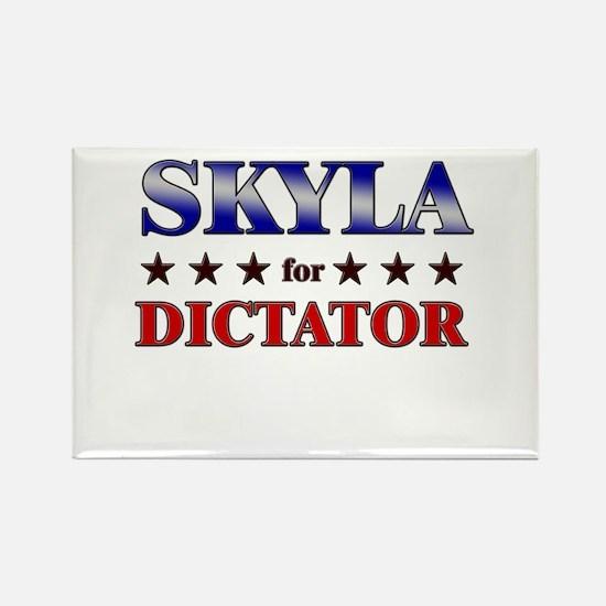 SKYLA for dictator Rectangle Magnet