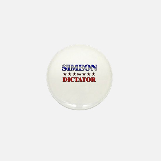 SIMEON for dictator Mini Button
