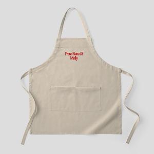 Proud Nana of Molly BBQ Apron