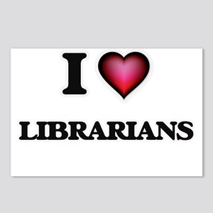 I love Librarians Postcards (Package of 8)