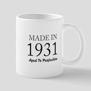 Made In 1931 Mugs
