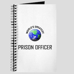 World's Greatest PRISON OFFICER Journal