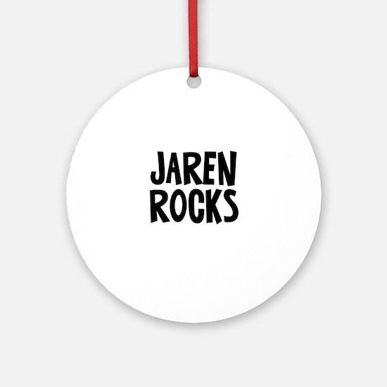 Jaren Rocks Ornament (Round)