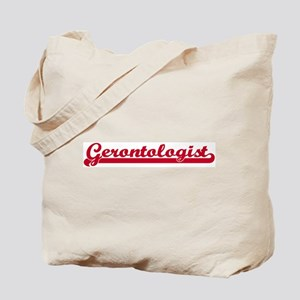 Gerontologist (sporty red) Tote Bag