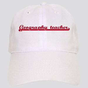 Geography teacher (sporty red Cap