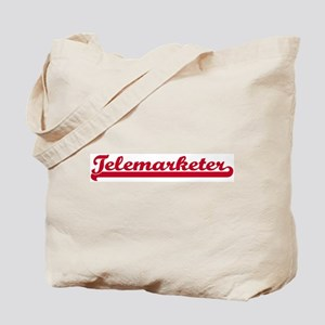 Telemarketer (sporty red) Tote Bag